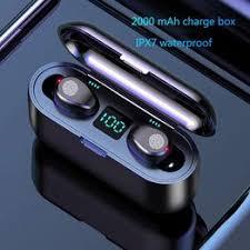 Wireless Earphone Bluetooth V5.0 F9 TWS Wireless ... - Vova