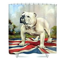 dog shower curtain hooks bulldog shower curtain dog shower curtains fine art bulldog shower curtains bulldogs
