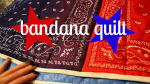 DIY* Easy Bandana Quilt - YouTube & *DIY* Easy Bandana Quilt - YouTube Adamdwight.com