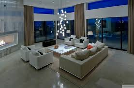 Interior Exterior Plan  Urban Living Room Design With Effective Cool Living Room Lighting