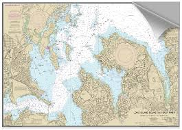 Western Long Island Sound Nautical Chart Best Picture Of