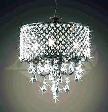 diy ceiling fan chandelier combo crystal fans kit for chandel