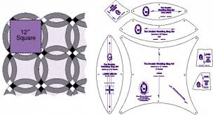 Download Double Wedding Ring Quilt Templates | Wedding Corners & ... Double Wedding Ring Quilt Templates Wonderful Design Ideas 12 From  Marti Michell Rulers And ... Adamdwight.com