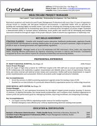 Regular Management Resume Writing Project Manager Resume Sample