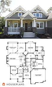 arts and crafts home plans best of craftsman style house plan 3 beds 2 00 baths
