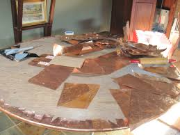 Copper Top Kitchen Table I Love Copper Table Tops Were Adding Some To Our Inventory This