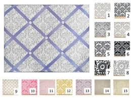 Damask Memo Board Damask French Memo Board 100 x 100 your choice of Premier Prints 55
