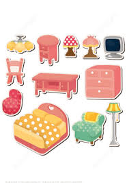 Sticky paper for furniture Decorative Click To See Printable Version Of Printable Furniture Stickers Paper Craft Solidropnet Printable Furniture Stickers Free Printable Papercraft Templates