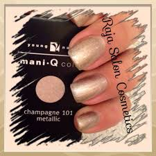 Young Nails Mani-Q color Champagne 101 Www.raja-saloncosmetics.nl