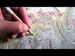 secret garden colouring book leaves jardim secreto Чарівний сад you colored pencil drawingspencil