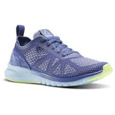 reebok womens running shoes. reebok - print smooth clip ultraknit lilac shadow / fresh blue electric flash white womens running shoes e