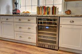 image of under counter wine refrigerator cabinet