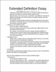 sample of definition essay thesis statement for definition essay examples of extended definition essays extended definition essay sample analysis essay outline for definition argument essay