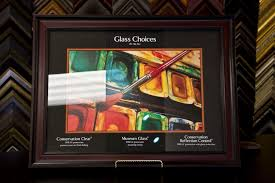 museum glass picture frame glazing