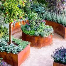 The Raised Bed Garden Plans for Minimalist Gardening : Cool Cedar Raised Garden  Beds Designs