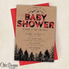 Pretty In Prints » Prettyinprintscom » Reel U0027Em InCamping Themed Baby Shower Invitations