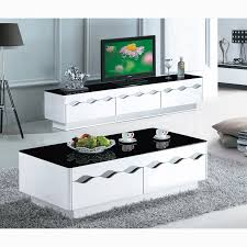 coffee table black and white paint glass coffee table living bunch ideas of white table living room