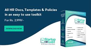 Startup Hr Toolkit All Hr Documents In One Place
