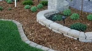brick garden edging. garden edging ideas - how to make most fluttering with these wood, metal, bricks, concrete brick