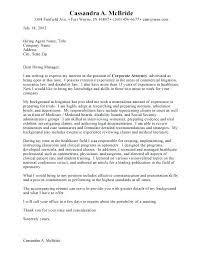 Lawyer Cover Letter Sample Sample Cover Letter For Job Lawyer Inside