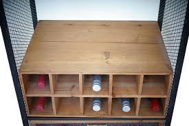 Weinregal Barschrank Tanne Vintage 10 Flaschen Jambch
