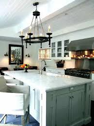 chandelier lighting over kitchen island height above chand