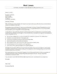 bookkeeper cover letter sle