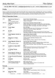 Photo Editor Resume Sample Updated Copy Editor Resume Sample
