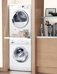 best stackable washer and dryer. Modren Dryer Whirlpool Washer Dryer Stacking Kit Stacked With Folding Shelf  Between Tiff N You Intended Best Stackable And