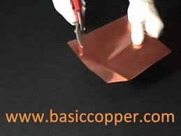 16 gauge copper sheet copper sheet thickness guide 22 mil 16 ounce copper youtube