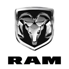 Sticker Dodge RAM logo