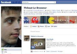 example facebook profile. Modren Facebook 6 Thibaut Le Brasseur On Example Facebook Profile C