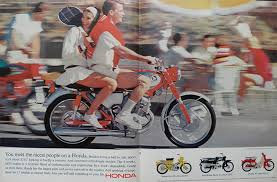 vintage honda motorcycle ads. 1965 vintage honda cb160 motorcycle ad a ball to ride ads v