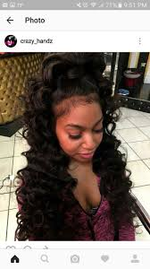 Sew In Hairstyles Long Hair 1002 Best Images About Sew In Hairstyles On Pinterest Lace