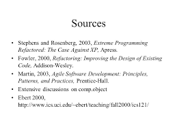 Agile Software Development Principles Patterns And Practices Extreme Programming Xp Ppt Download
