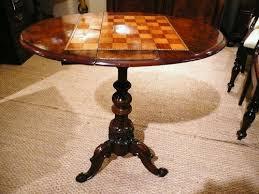 chess table walnut c1870 antiques atlas