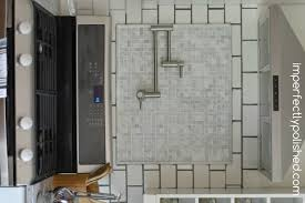 backsplash subway tile dark grout