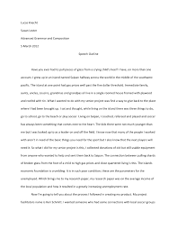 essay about sppech how to write a speech samples of writing essaybasics