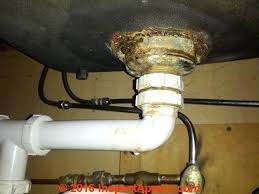 sink drain sealant badly corroded leaky kitchen sink strainer assembly c sink plumbing leaks sink drain