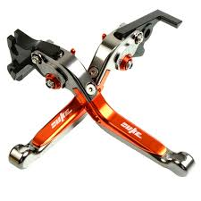 <b>Motorcycle CNC Adjustable Brake</b> Clutch Levers For KTM 125Duke ...