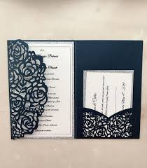 Real Made Laser Hollow Personal Design Wedding Invitation Customization Invites With Envelope Wedding Accessory Blank Inner Custom Wedding Invitation