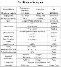 testosterone enant raw steroid