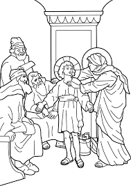 Small Picture Jesus Lost In Temple Coloring Page boy jesus in the temple