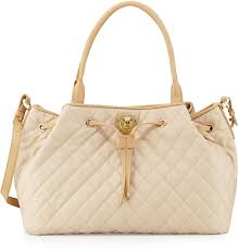 Moschino Borsa Quilted Faux Leather Tote Beigeivory | Where to buy ... & ... Moschino Borsa Quilted Faux Leather Tote Beigeivory ... Adamdwight.com