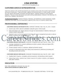 skills of customer service representative customer service objective resume foodcity me