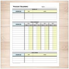 weight training log book trainrite compact fitness journal an exercise log book fitness