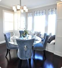blue dining room set.  Room Blue Dining Room Chairs Set Captivating Velvet  About Remodel Royal Intended E