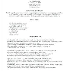 Samples Of Receptionist Resumes Plain Ideas Medical Office