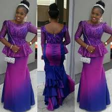 Beautiful Lace Aso Ebi Styles For Wedding Guests