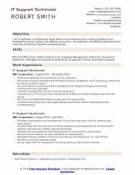 computer support technician resume it support technician resume samples qwikresume